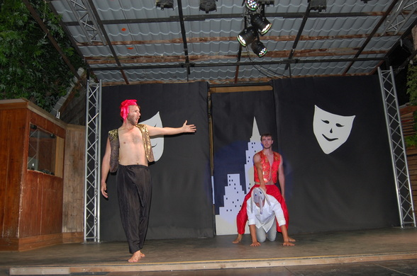Camping Show, Ariège 2018, spectacle Camping Le Pré Lombard-A.Bourdet