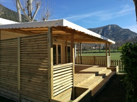 Location mobil home camping Ariège